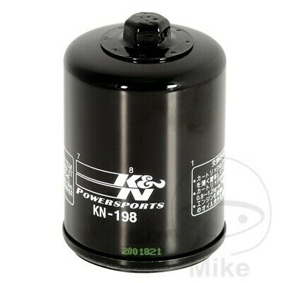 <em>VICTORY</em> CROSS COUNTRY 1800 ABS KN PREMIUM OIL FILTER KN 198