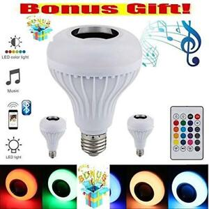 LED BLUETOOTH SPEAKER BULB- FREE SHIPPING++ CHEAPEST PRICE