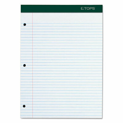 Tops Double Docket Writing Pad College Rule Letter White 100 Sheetspad Pd