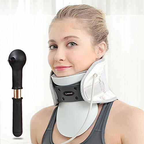 Cervical Neck Device with Heating Pad, Neck Traction Belt for Neck Stiffness Nec