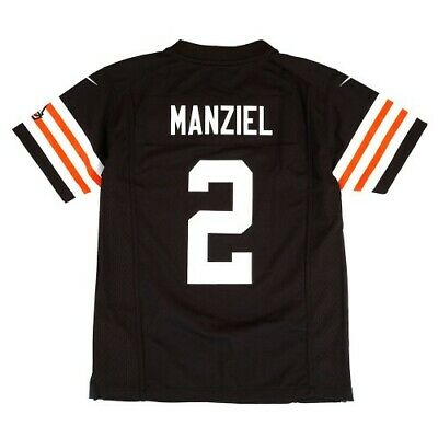 Johnny Manziel Cleveland Browns Nike Home Brown Game Jersey Youth (S-XL)