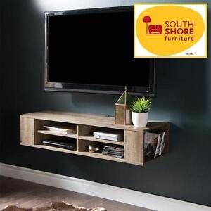 NEW SS WALL MOUNTED MEDIA CONSOLE SOUTH SHORE - FURNITURE CITY LIFE - 48'' - HOME - LIVING ROOM 105539114