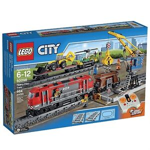 Lego Heavy Haul train set # 60098 NEW IN BOX & NO TAX