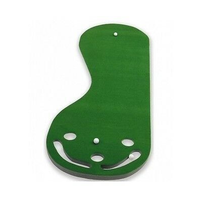 Golf Practice Mat Putting Green Indoor Training Aid Equipment 3 Hole Putter Putt Golf Training Mat