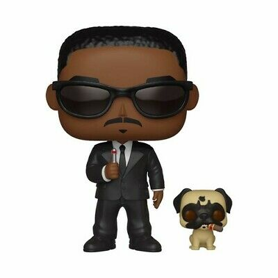 Mens Black Figure - FUNKO POP! & BUDDY: Men in Black - Agent J & Frank [New Toys] Vinyl Figure