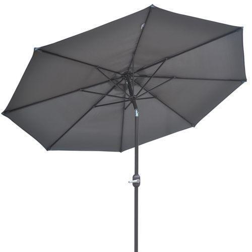 Patio Umbrella Gray Ebay