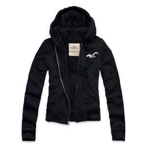 BRAND-NEW-HOLLISTER-WOMENS-SHERPA-LINED-HOODIE-SIZE-LARGE-NWT