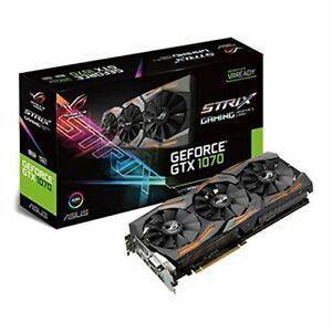 ASUS GeForce GTX 1070 8GB ROG STRIX Graphic Card (STRIX-GTX1070-