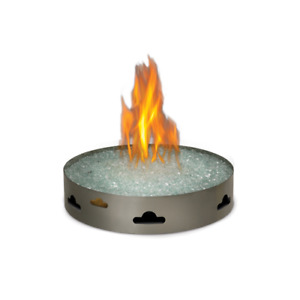 Patioflame Gas Fire Pit with Glass Ember Bed