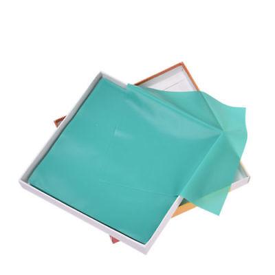 1 Kit Dental Rubber Dam Sheet Pure Latex Dura Dam 52 Pcs 55 Green Small Size