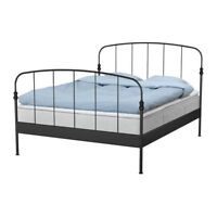 IKEA Queen Size Iron Bed Frame