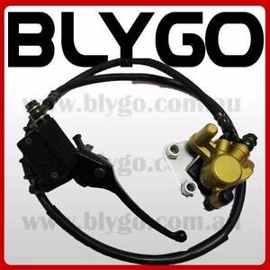 GD Hydraulic Front Disc Brake Caliper System+Pads 125cc 150cc PIT Braeside Kingston Area Preview