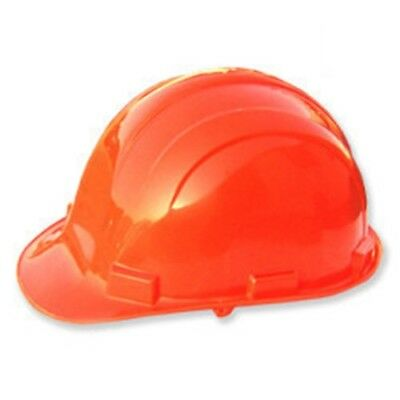 Orange Color Safety Hard Hat Hardhat Plastic Protective Construction Helmet