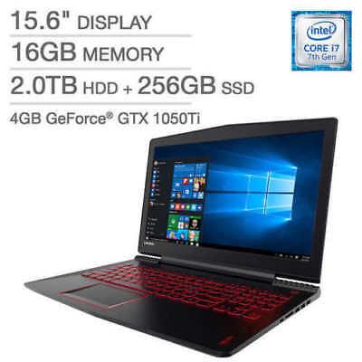 """New Lenovo Legion Y520 i7-7700HQ✔16GB✔2TB+256GB✔nVidia 1050Ti✔15.6"""" FHD✔Gaming"""