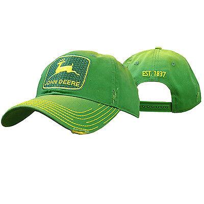John Deere Hat, John Deere Trucker Cap, John Deere 13080295.  NWT. Green/ Yellow