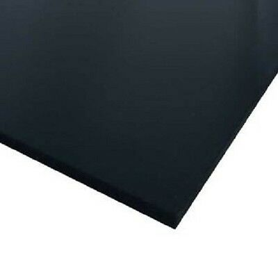 Black Celtec Foam Board Plastic Sheets 10mm X 24 X 48