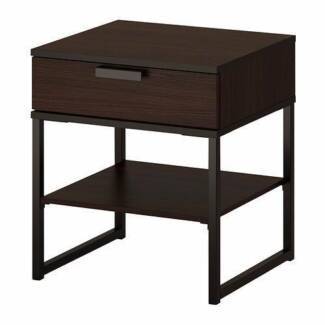 As New IKEA TRYSIL Bedside Table (Set of 2)