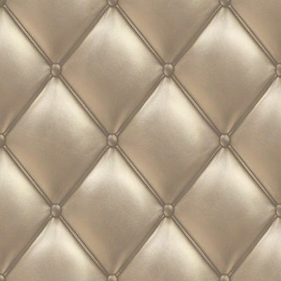 PE01023 Galerie Exposed Textured Gold Padded Headboard Feature Wallpaper for sale  Shipping to Canada