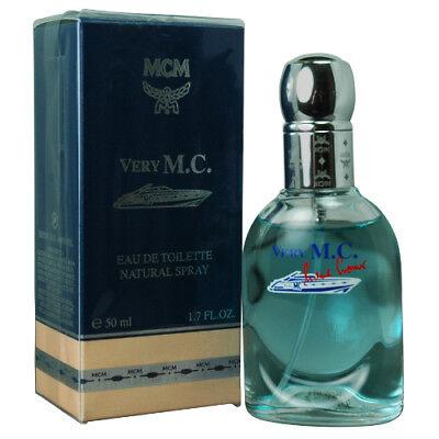 Very MC by MCM Men EDT Spray Cologne 1.7oz New In Box