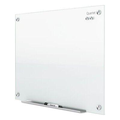 Quartet Infinity Magnetic Glass Marker Board - G2418W
