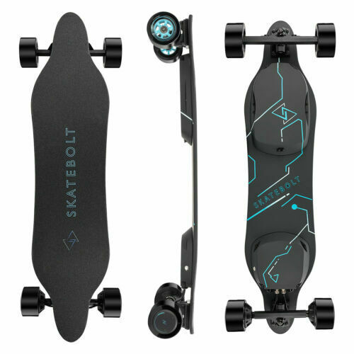 SKATEBOLT Breeze II Electric Skateboard Refurbished in Great Performance