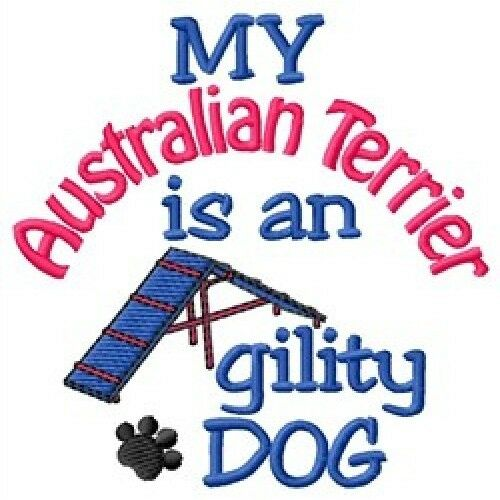 My Australian Terrier is An Agility Dog Long-Sleeved T-Shirt DC1936L