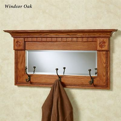 Dentil Pediment Wall Mirror