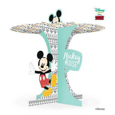 MICKEY MOUSE Awesome CUPCAKE STAND ~ Birthday Party Supplies Table Decoration