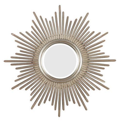 Silver sunburst mirror ebay for Sunburst mirror