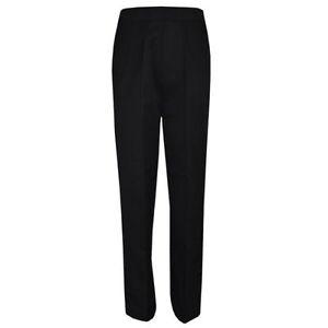 Hombre-Nino-Negro-Pitillo-Ajustado-Pantalon-para-la-escuela