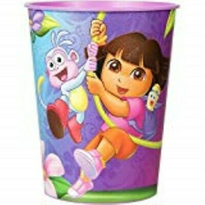 Dora The Explorer Cups (Dora the Explorer Plastic Favor Cup Decoration Favor Party Supplies )