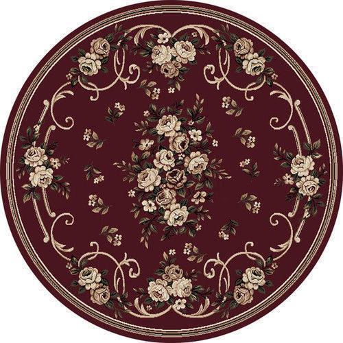 Antique Round Rug