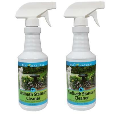 2-Pack Care Free Enzymes Birdbath Statuary Cleaner Spray Bottle 98510D 16 - Birdbath Cleaner