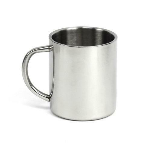Stainless Steel Double Walled Mug Ebay