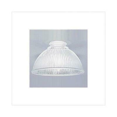 Westinghouse 8135500 - 2-1/4-Inch Clear Prismatic Glass Shade