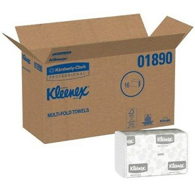 Paper Towel Kleenex Multi-Fold 9-3/10 X 9-2/5 Inch 01890 Case/2400