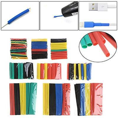328x Heat Shrink Tubing Insulation Shrinkable Tube 21 Wire Cable Sleeve Kit