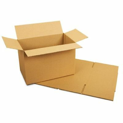 200 x Royal Mail Small Parcel Postal S/W Cardboard Boxes - 449 x 349 x 159 mm