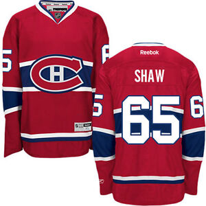CHANDAIL DE HOCKEY LHN MONTREAL CANADIENS NHL JERSEY SHAW