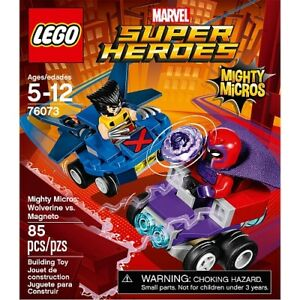 LEGO Super Heroes Mighty Micros: Wolverine vs. Magneto #76073