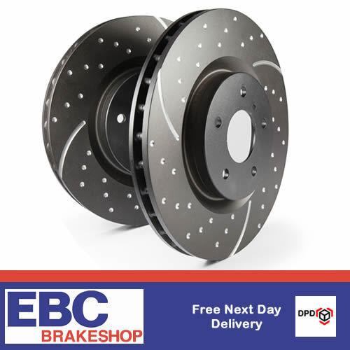 EBC TurboGroove Brake Discs for LOTUS Elise  (Pair) GD978