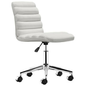 Zuo Admire Office Chair (205711) - White New in Box