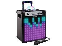 ION Party Rocker Max 100 W Portable Bluetooth Party Speaker Karaoke lights w/mic