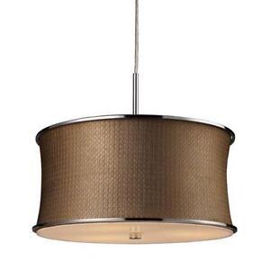 Ceiling Drum Light: Drum Shade Pendant Light,Lighting