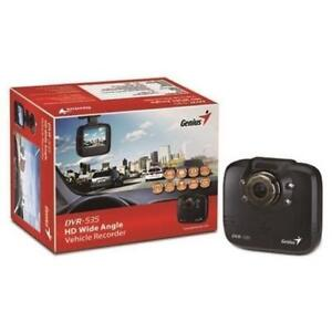 Genius Dash Cam DVR 566/720P/G-sensor/Wide Angle 120 degree/ 2.4-Inch LCD pan,  Brand New, $39.99