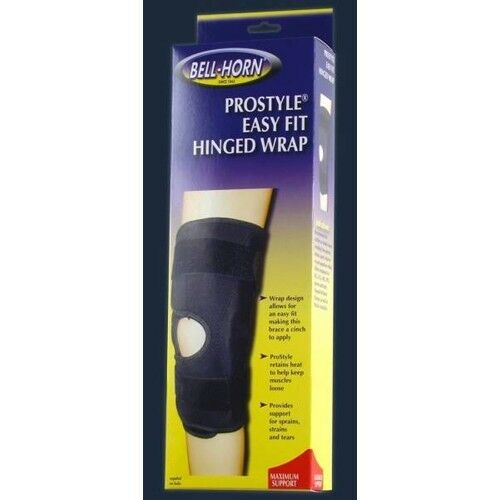 Bell Horn ProStyle Easy Fit Hinged Wrap Knee Brace