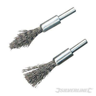 2 Piece Engine Decoke Wire Brush Set