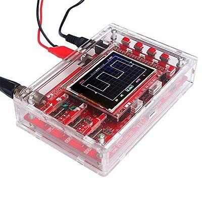 1pcs New Dso138 2.4 Tft Digital Oscilloscope Acrylic Case Diy Kit Smd Soldered
