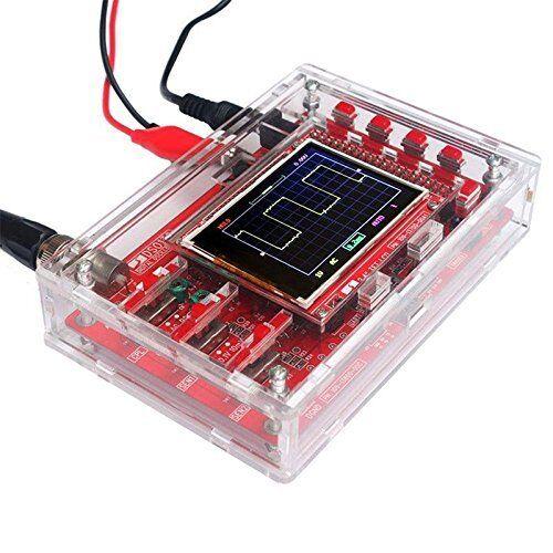"1PCS NEW DSO138 2.4"" TFT Digital Oscilloscope Acrylic Case DIY Kit SMD Soldered"