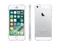 *Factory Unlocked - Very Good* iPhone 5S Silver 16GB LTE/4G Retina Latest iOS 11